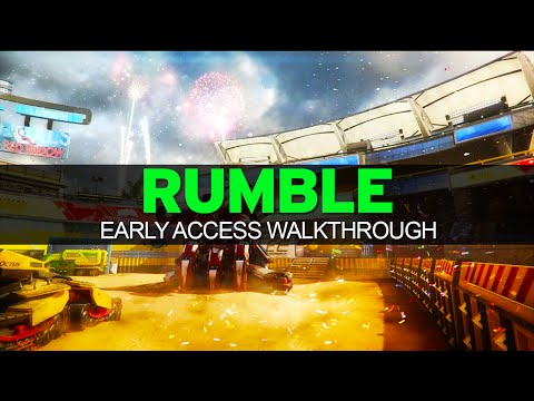 Black Ops 3 - EARLY ACCESS - RUMBLE Complete Map Walkthrough - (BO3 Descent DLC)