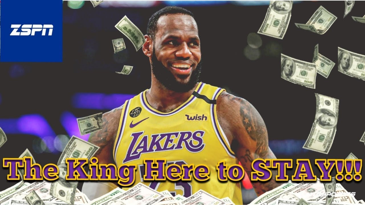 Reports: LeBron James agrees to two-year extension with Lakers ...