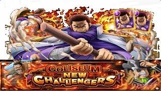 (OPTC)Double Fujitora Chaos Coliseum Capone 30 Stamina