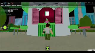 roblox (Ben 10 Fighting Game)