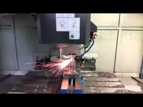 CNC Mill Grinding