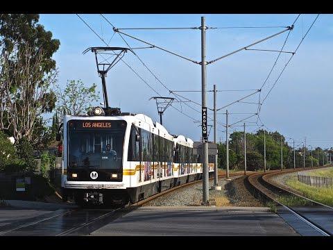 Los Angeles Metro Rail 25th Anniversary