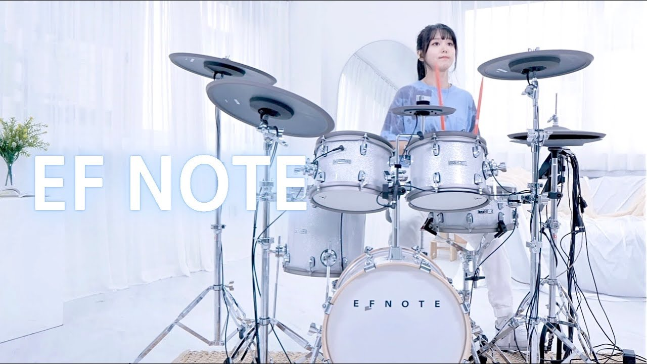 EF NOTE 5 전자드럼 [Flux Vortex -Chemistry!] DRUM | COVER By SUBIN #efnote5 #전자드럼 #ElectronicDrum