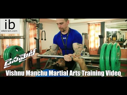 Dynamite - Vishnu Manchu Martial Arts Training Video