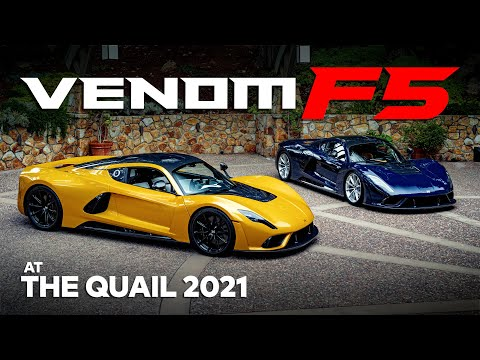 Venom F5 Chassis 03 Unveiling at The Quail 2021