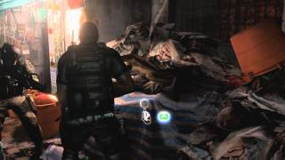 Resident Evil 6 gameplay Chris Poisawan Inner Area HD Game trailer - PC PS3 X360