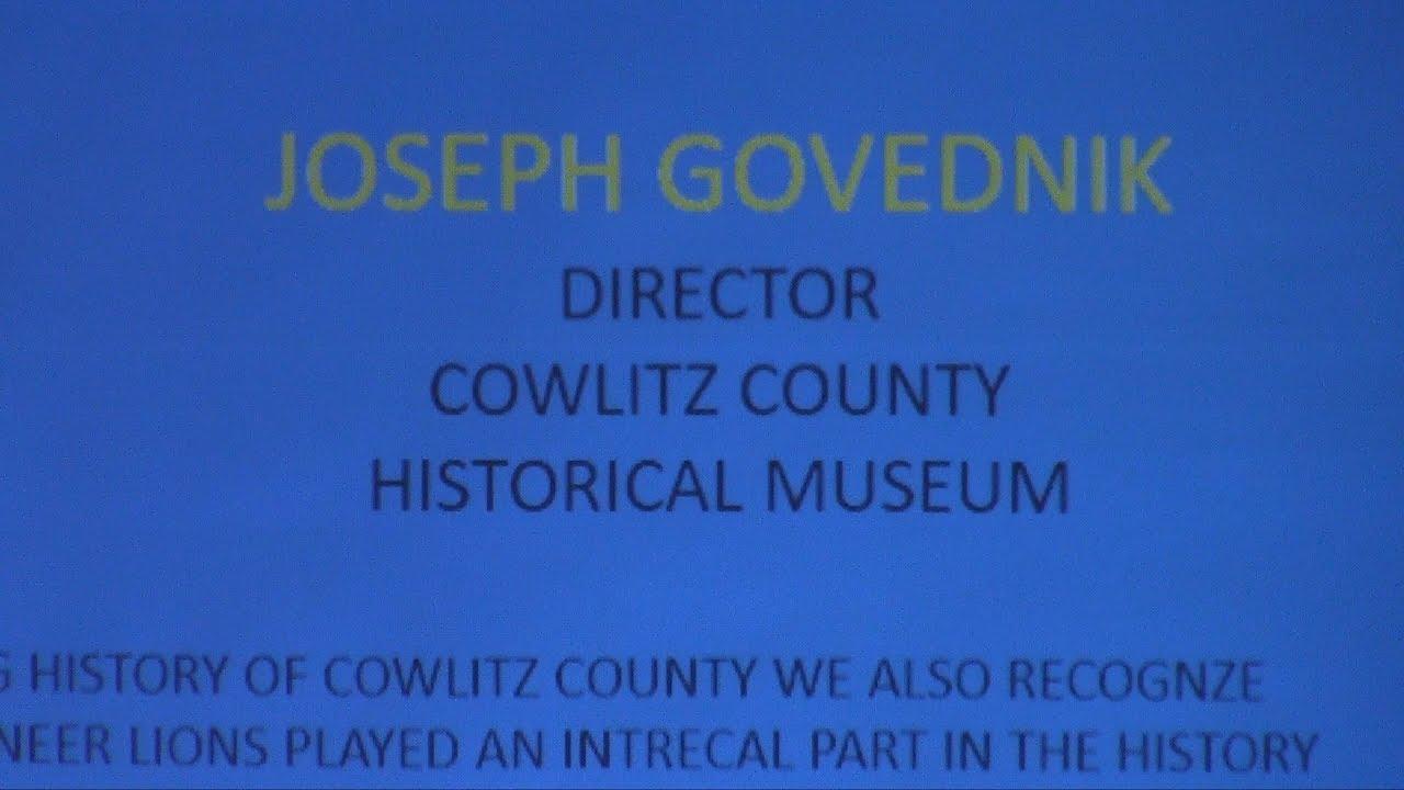 Cowlitz County Historical Museum with Joseph Govednik