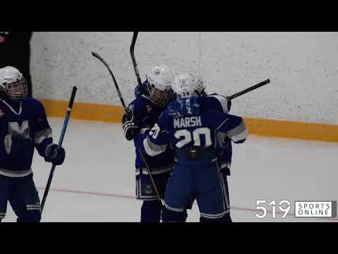 Hespeler Minor Hockey (Minor Midget AE) - Milton Winterhawks Vs Hespeler Shamrocks