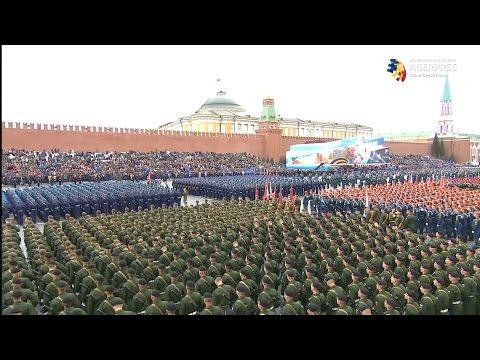 Paradă militară în Piaţa Roşie din Moscova, de Ziua Victoriei