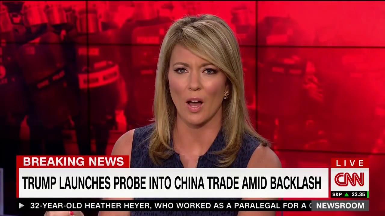CNN Anchor Rolls Her Eyes After Trump Calls Acosta U0027Fake Newsu0027 Part 42