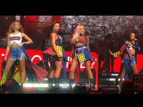Joan of Arc  Broken Stage - 211 The O2 Arena London - Little Mix - LM5 The Tour