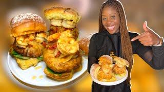 ULTIMATE Crab Cake Burger |Easy Air Fryer 15 Minute Recipe|