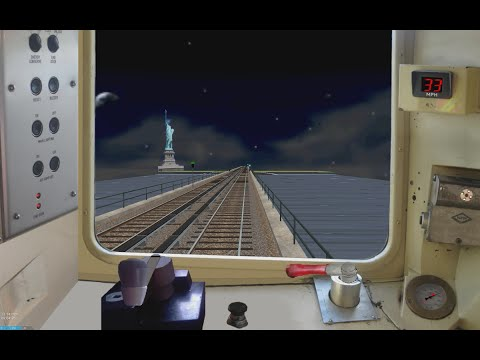 Openbve Gameplay - K to Carteret, New Jersey