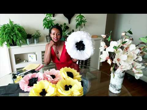 Tissue Paper Flowers for Event Decorations