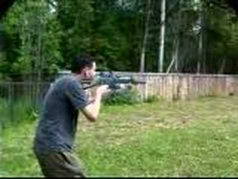 Bizon submachine gun