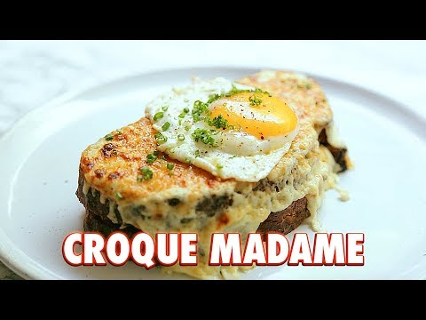Croque Madame: The Greatest Grilled Cheese In The World