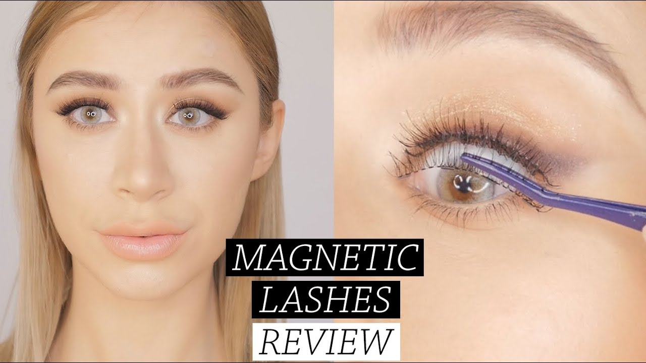 1cd34d01558 ARDELL MAGNETIC LASHES | first impression & review - YouTube