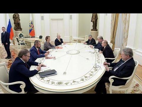 Vladimir Putin: Silahlanma yarışında olmayacağız