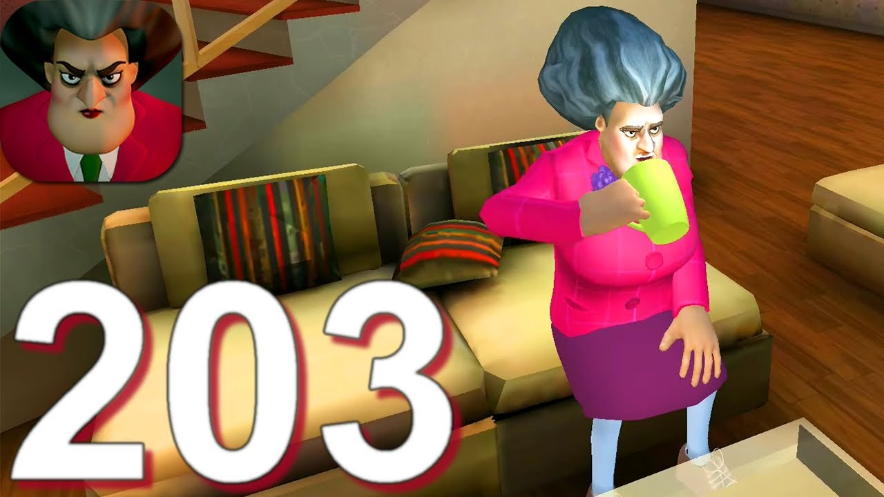 Scary Teacher 3D - Gameplay Walkthrough Part 203 Pin Attack (Android,iOS)