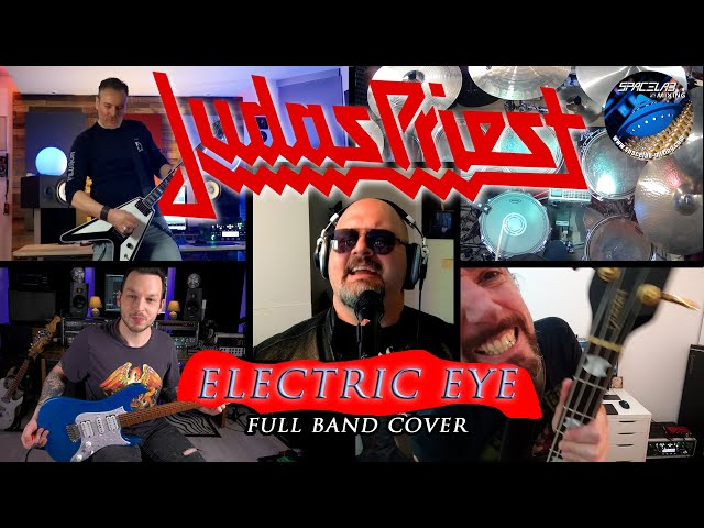 JUDAS PRIEST - The Hellion/Electric Eye - Full Band Cover Feat. U.D.O. Guitarist Dee Dammers