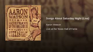 Songs About Saturday Night (Live)