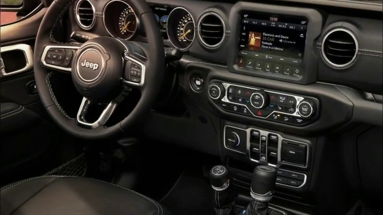 2018 Jeep Wrangler Unlimited Interior And Exterior