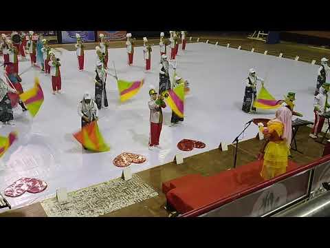 Penampilan Marching Band Gita Sekar Santri Putri Wali Songo Ngabar Ponorogo
