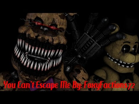 [FNAF SFM] You Can't Escape Me | REMASTERED