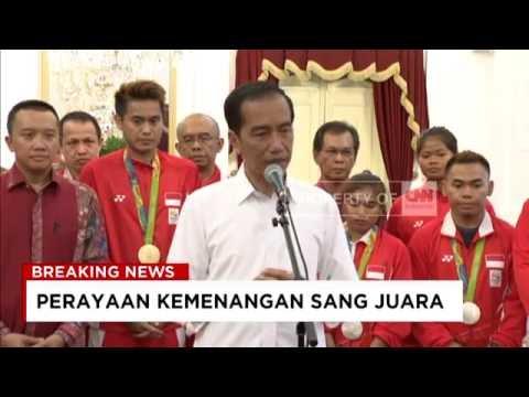 Live Report: Apresiasi Jokowi atas Prestasi Tim Olimpiade Rio 2016 & Strategi Mencetak Prestasi