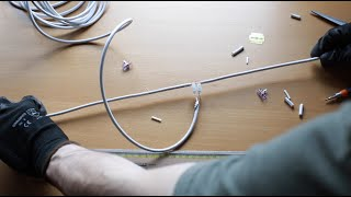 Antenna TV Fai Da Te - Dipolo semplice