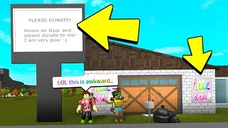 I GAVE HER $100,000 BECAUSE OF THIS.. (Roblox Bloxburg)