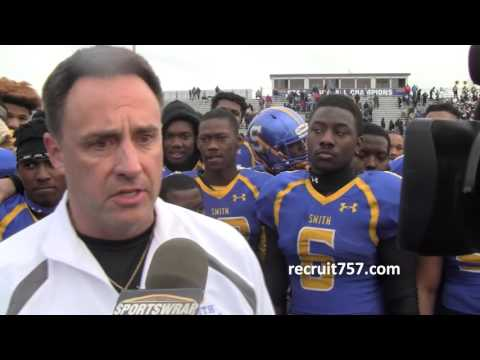 Oscar Smith defeats Thomas Dale to win the 2015 6A South Title
