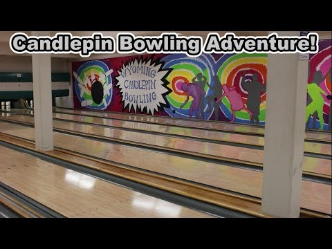 Candlepin Bowling Adventure! - YouTube