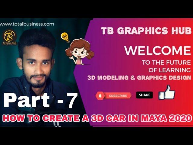 3D Car Modeling-Part-7