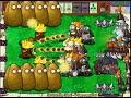 Plants Vs Zombies - 1 Threepeater vs 9999 Giga-Gagantuar thumb