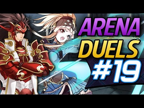 Fire Emblem Heroes: Online Arena Duels #19 - Clair & Ryoma! [4802 Score Deathless run]