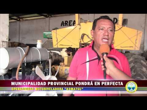 MPAA PONDRÁ EN PERFECTA OPERATIVIDAD MOTONIVELADORA KOMATSU