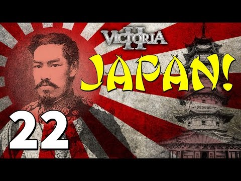 Vic2 Japan [22] The 2nd Great War! - Victoria 2 Heart Of Darkness Gameplay