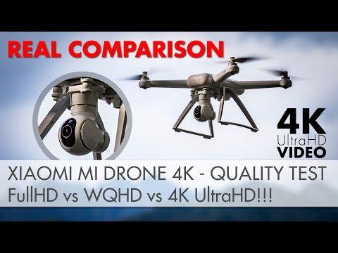 Xiaomi Mi Drone 4k - Video Quality Comparison! TRUTH TEST - 1080p Vs 1440p Vs 2160p [4K UltraHD]