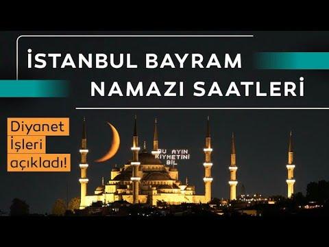 İstanbul Bayram Namazı Saat Kaçta? 31 Temmuz 2020