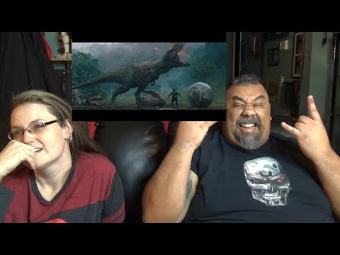 Jurassic World Fallen Kingdom Trailer Reaction