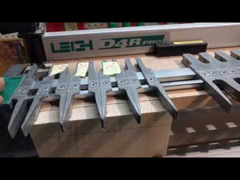 How to use the Leigh D4r Pro Dovetail jig part 1 - YouTube