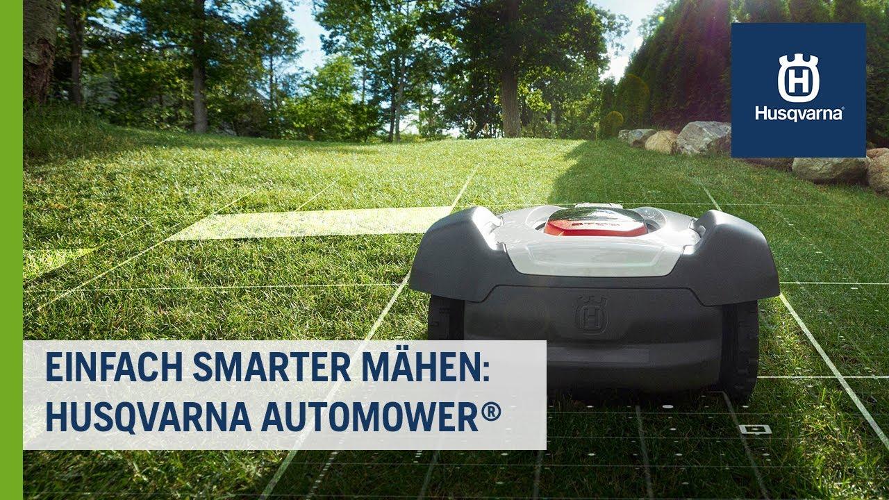Einfach smarter mähen: Automower® Mähroboter | Husqvarna Rasen