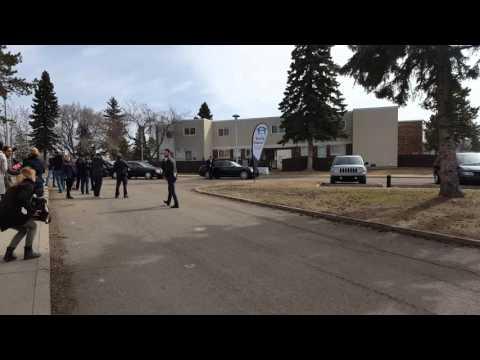 Mr. Trudeau in Edmonton