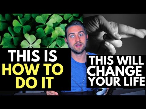 How to Become Lucky (The Secret to Luck)