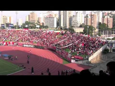 FutbolVE.com | Las barras en el Clásico Caracas-Táchira 12/09/2010