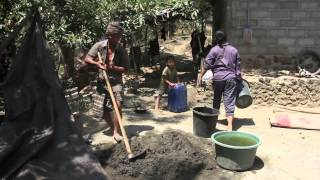 Toilets Today, for a Healthy Tomorrow, Timelapse Toilet Construction