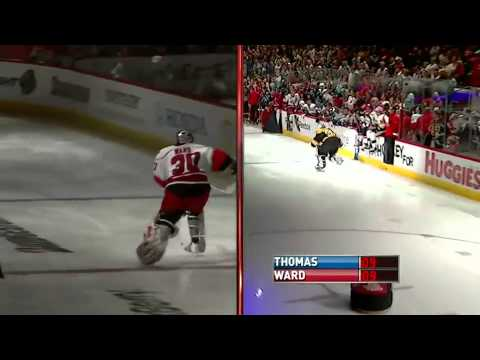 NHL: 2011 Skills Competition - Fastest Goaltender