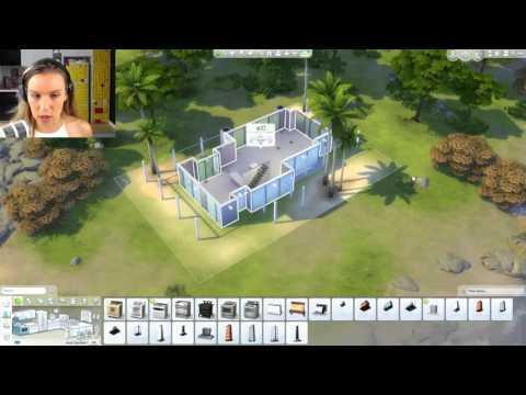 LIVE STREAM - The Sims 4 Malibu Build & CAS