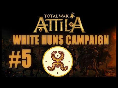 Total War: Attila - White Huns Campaign #5